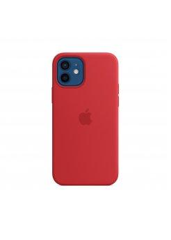 Калъф Silicone Case за Apple iPhone 12/12 Pro Red - Аксесоари