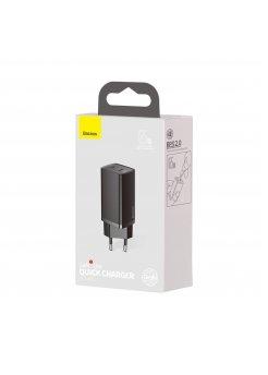 Зарядно устройство Baseus Quick Charge Black - Baseus