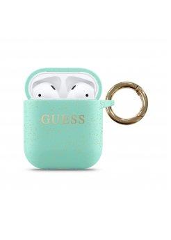 Предпазен калъф Guess за Apple Airpods 2 Green - Аксесоари