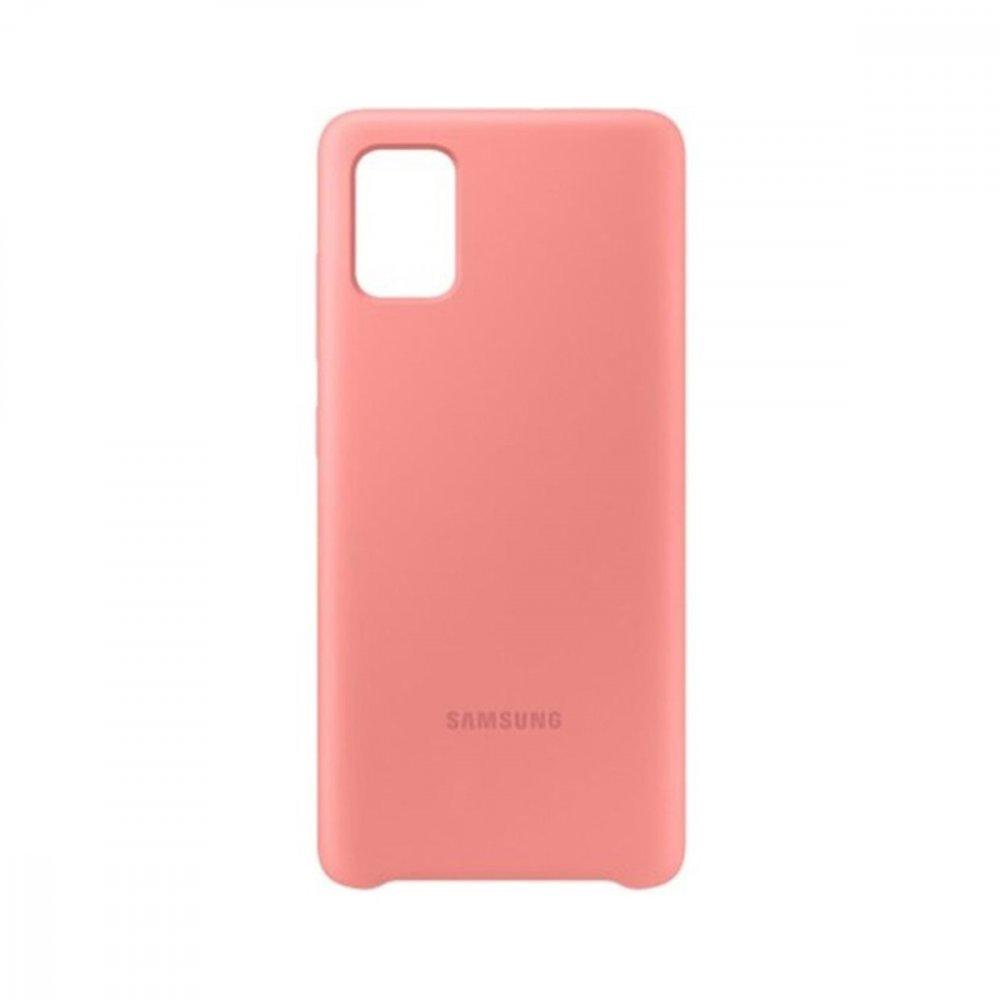 Калъф Оригинал Samsung Galaxy A51 EF-PA515TPE Silicone Cover
