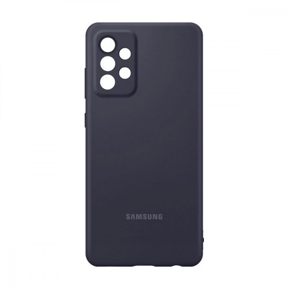 Калъф Оригинал Samsung Galaxy A52 EF-PA525TBE Silicone Cover Black