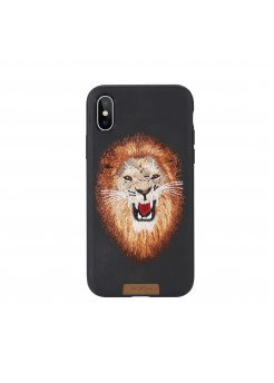 Калъф Apple iPhone X/XS Rock Beast Embroidery - Аксесоари