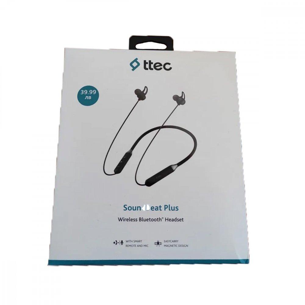 Безжични слушалки Ttec Soundbeat Plus Black