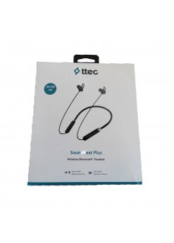 Безжични слушалки Ttec Soundbeat Plus Black -