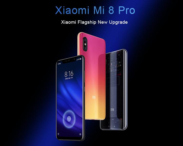 Xiaomi Mi 8 Pro 128GB 8GB RAM Dual Sim Black на добра цена от Мовен