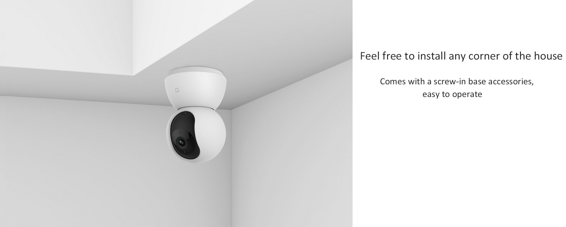 Xiaomi Mi Home Security Camera 360 White