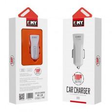 Зарядно устройство за кола EMY MY-110 Micro USB