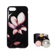 Калъф силикон + popsocket Fashion Case Apple iPhone 8