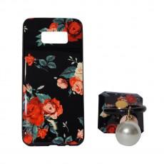 Калъф силикон + popsocket Fashion Case Samsung Galaxy S8
